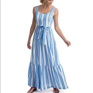 Vineyard Vines blue maxi dress
